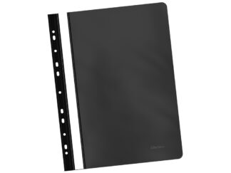 PVC flat file folder, multipunched