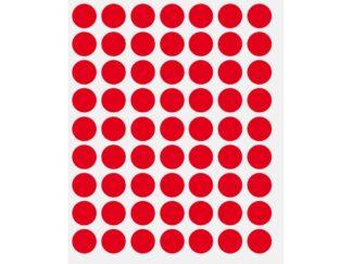 Dot labels, coloured 630/set