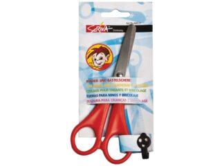 Scissors 13cm for children - with cm/mm ruler
