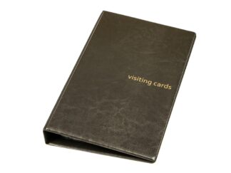 Business card folder 120 with rings Exacard