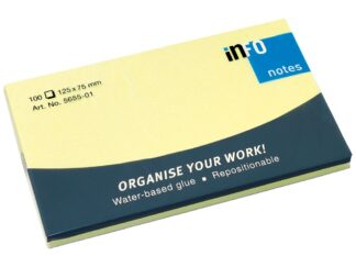 Sticky notes Info Notes 75 x 125mm, 100 sheets