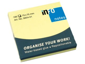 Sticky notes Info Notes 75 x 75mm, 100 sheets