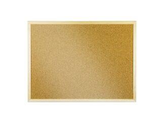 Corkboard in wooden frame 60x80