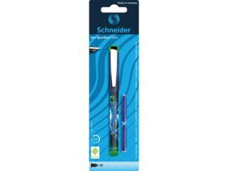 Blister Fountain pen Schneider INX Sportive+2 reserves