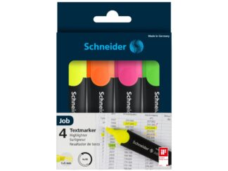 Wallet highlighters job Schneider x4 colors/set