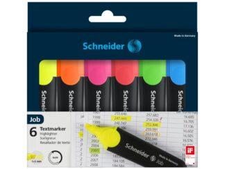 Wallet highlighter Job Schneider x6 colors/set
