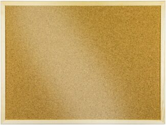 Corkboard in wooden frame 120x90
