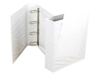 Ringbinder 70mm, 4 rings with pocket