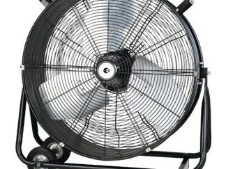Equation Floor fan, 330 W,D 60 cm, Black