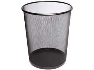 Waste basket, black 15l Office