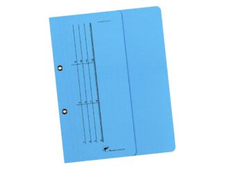 Colored cardboard file 1/2 with staples