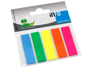 Pagemarker Info Notes 12x50mm 5/set 125 sheets