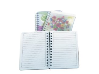 Mini diary with spiral 120x80 mm