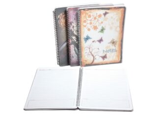 Spiral diary Notebook - undated - A4 280X200 mm