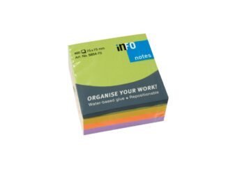 Sticky notes Spring cube Info Notes 75x75mm, 400 sheets