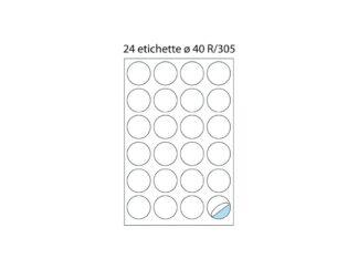 Labels 24/A4 O40 100/box