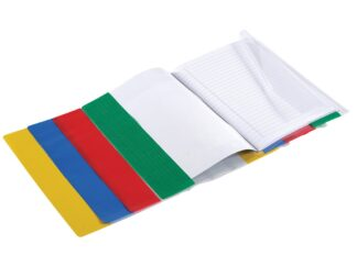 Covers for notebooks A5 PVC with regulation