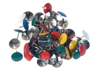 Thumb tacks color 100pcs/box