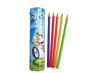 Coloured Pencils Lambo 24 pc in metal box