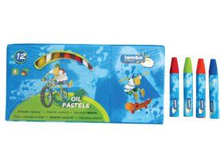 Oil pastel pencils Lambo 12 pc