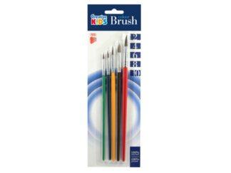 Brushes 5 / Set, Size 2/4/6/8/10 Ico Ck