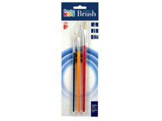 Brushes 3 / Set, Size 4/8/12 Ico Ck