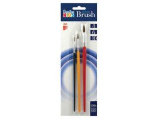 Brushes 3 / Set, Size 4/6/10 Ico Ck