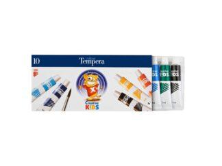 Tempera Watercolors Ico Ck16Ml X 10 Colors