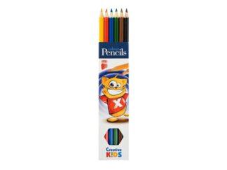 Color pencils 6 / Set Ico Ck