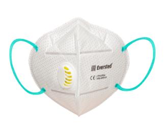 Eversted EVR3C filter mask, type FFP3 with valve – 20EA