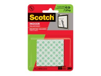 Double-sided adhesive tape for mounting and securing objects 25x25mm 24/set Scotch