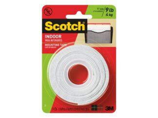 Permanent Foam Mounting tape Scotch, 12.5mmx1.9m 3M