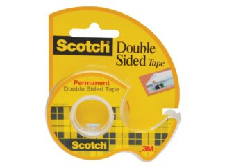 Double sided tape Scotch, 12mm x 6.3m with dispenser 3M