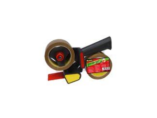 Tape grip dispenser + 2 rolls low-noise Scotch 50mm x 66m 3M