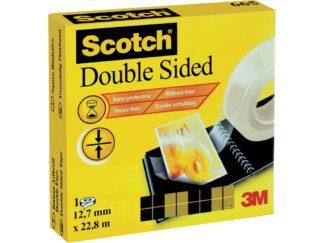 Double sided tape Scotch 12.7mmx22.8m 3M