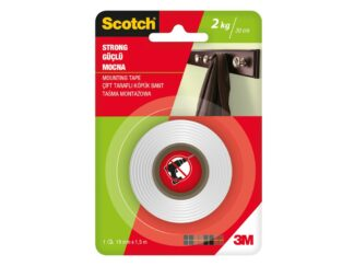 Indoor Mounting Tape strong Scotch 19mmx 1.5m 3M
