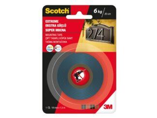 Extreme Mounting Tape Scotch 19mmx1.5m 3M