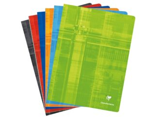 Stapled copybook 24x32cm 96 files Clairefontaine Metric
