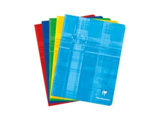 Stapled copybook 17x22cm 24 files Clairefontaine Metric