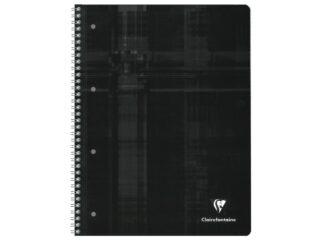 Wirebound notebook with coloured edges A4+ Studium