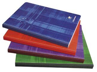 Clothbound notebook, 17x22cm, 192sh. Seyès