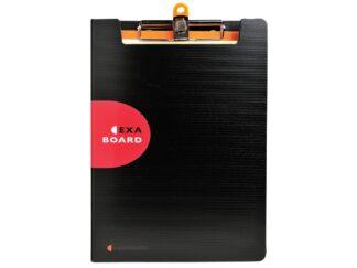 Double clipboard with elastic band Exaboard