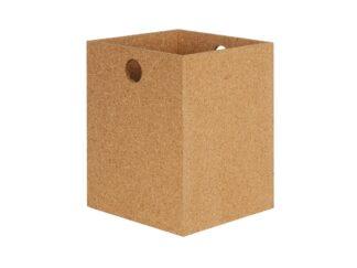 Paper Wastebasket - 100% natural Cork