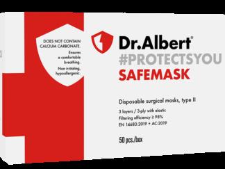 SAFEMASK Disposable surgical masks, type II - 50EA