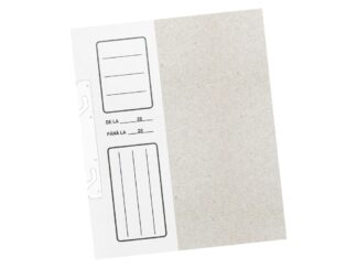 Hooking File folder 1/2 cardboard, white with claws