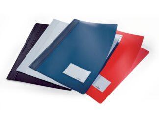 Plastic rail file with Duralux Durable label