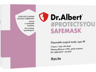 SAFEMASK Disposable surgical masks, type IIR - 50 EA
