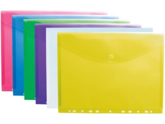 Color Collection perforated envelopes A4