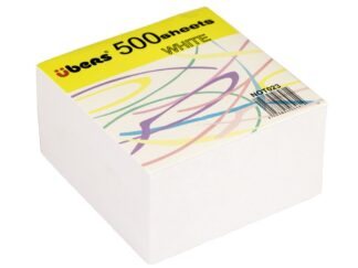 White paper cube 500sheets refil Ubers