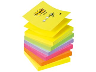 Sticky notes Z-Notes neon Post-it 76 x 76mm, 6x100 sheets, 3M